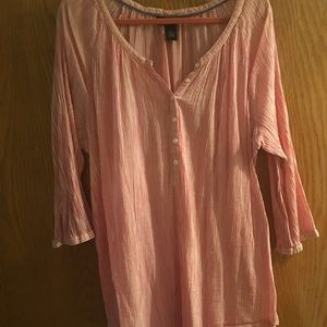 EUC Lane Bryant Tunic Top. Sz 26/28